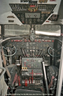 043 Douglas C-54B Swing Tail 9Q-CBG Zaire Aero Service © Michel Anciaux