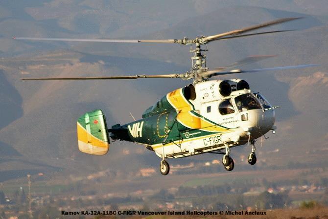 DSC_0069 Kamov KA-32A-11BC C-FIGR Vancouver Island Helicopters © Michel Anciaux