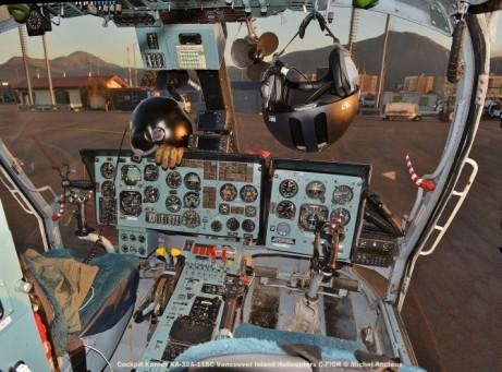 DSC_0121 Cockpit Kamov KA-32A-11BC C-FIGR Vancouver Island Helicopters © Michel Anciaux