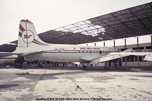 img02 Douglas C-54E 9Q-CPB Zaire Aero Service © Michel Anciaux