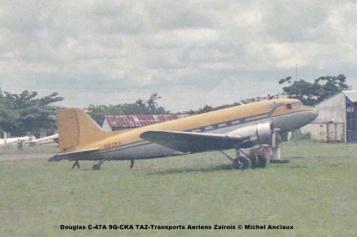 img05 Douglas C-47A 9Q-CKA TAZ-Transports Aeriens Zairois © Michel Anciaux