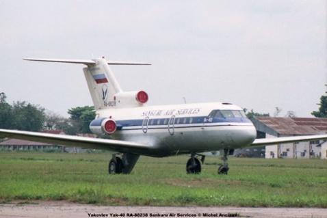 img102 Yakovlev Yak-40 RA-88238 Sankuru Air Services © Michel Anciaux