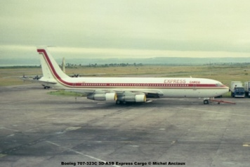 img105 Boeing 707-323C 3D-ASB Express Cargo © Michel Anciaux