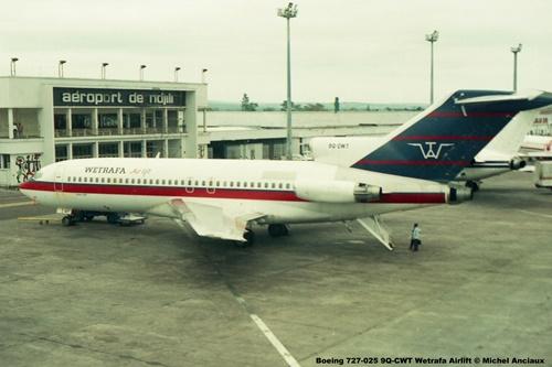 img108 Boeing 727-025 9Q-CWT Wetrafa Airlift © Michel Anciaux