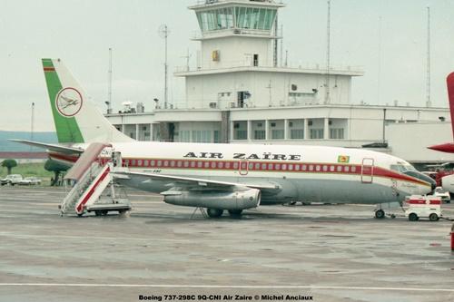 img115 Boeing 737-298C 9Q-CNI Air Zaire © Michel Anciaux