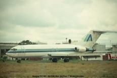img122 Boeing 727-081 9Q-CDM Blue Airlines © Michel Anciaux