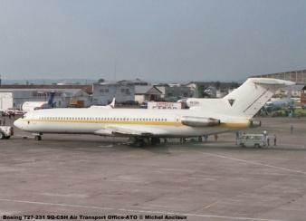img132 Boeing 727-231 9Q-CSH Air Transport Office-ATO © Michel Anciaux