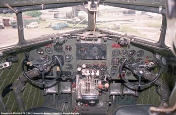 img138 Douglas C-47A 9Q-CYE TAZ-Transports Aeriens Zairois © Michel Anciaux