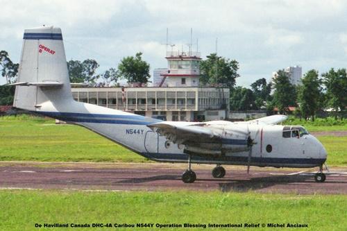 img146 De Havilland Canada DHC-4A Caribou N544Y Operation Blessing International Relief © Michel Anciaux