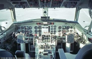 img158 Convaitr 580 9Q-CEJ CAA Compagnie Africaine d'Aviation © Michel Anciaux