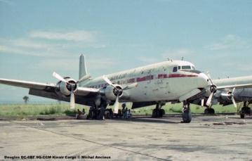 img168 Douglas DC-6BF 9Q-CCM Kinair Cargo © Michel Anciaux