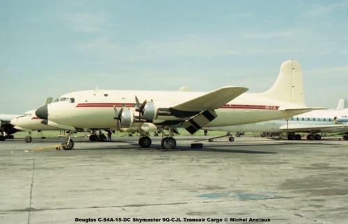 img174 Douglas C-54A-15-DC Skymaster 9Q-CJL Transair Cargo © Michel Anciaux