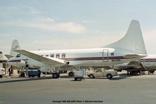 img175 Convair 580 9Q-CRS Filair © Michel Anciaux