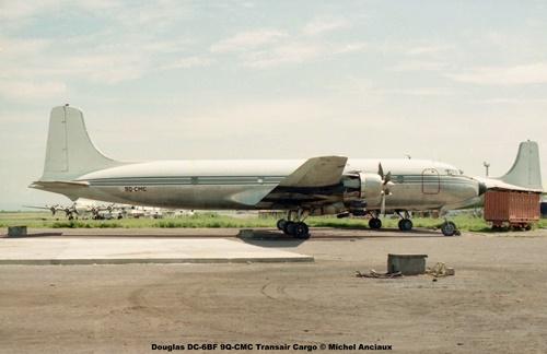img179 Douglas DC-6BF 9Q-CMC Transair Cargo © Michel Anciaux