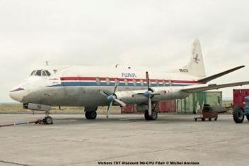 img18 Vickers 757 Viscount 9Q-CTU Filair © Michel Anciaux