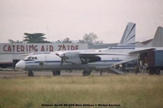 img182 Antonov An-26 9Q-CZK Blue Airlines © Michel Anciaux