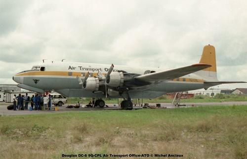 img188 Douglas DC-6 9Q-CPL Air Transport Office-ATO © Michel Anciaux