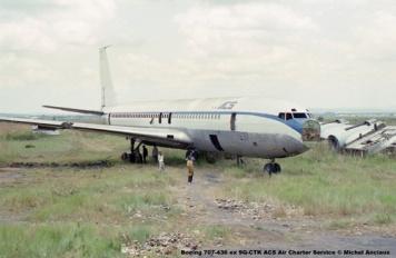 img230 Boeing 707-436 ex 9Q-CTK ACS Air Charter Service © Michel Anciaux