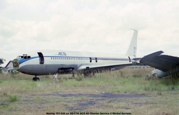 img233 Boeing 707-436 ex 9Q-CTK ACS Air Charter Service © Michel Anciaux
