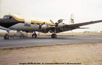 img264 Douglas DC-6B 9Q-CRH Air Transport Office-ATO © Michel Anciaux