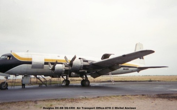 img265 Douglas DC-6B 9Q-CRH Air Transport Office-ATO © Michel Anciaux