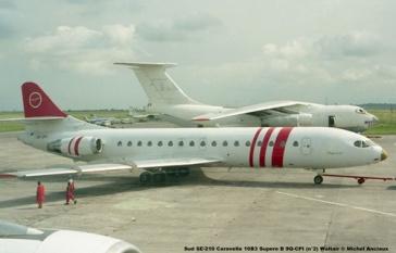 img281 Sud SE-210 Caravelle 10B3 Supere B 9Q-CPI (n°2) Waltair © Michel Anciaux