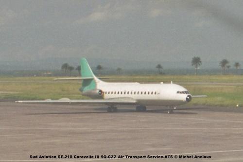 img283 Sud Aviation SE-210 Caravelle III 9Q-CZZ Air Transport Service-ATS © Michel Anciaux