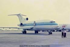 img288 Boeing 727-081 9Q-CDM Blue Airlines © Michel Anciaux