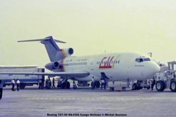 img290 Boeing 727-30 9Q-CSG Congo Airlines © Michel Anciaux
