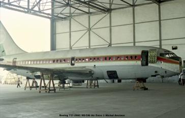 img302 Boeing 737-298C 9Q-CNI Air Zaire © Michel Anciaux