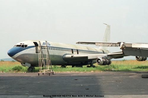 img309 Boeing 720-025 9Q-CTD New ACS © Michel Anciaux