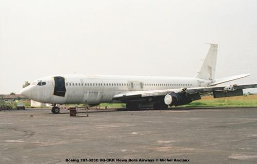img311 Boeing 707-323C 9Q-CKK Hewa Bora Airways © Michel Anciaux
