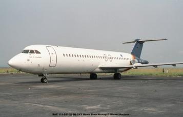 img315 BAC 111-501EX 9Q-CKY Hewa Bora Airways© Michel Anciaux