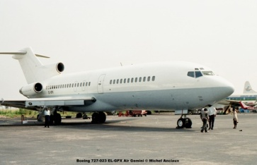 img316 Boeing 727-023 EL-GPX Air Gemini © Michel Anciaux