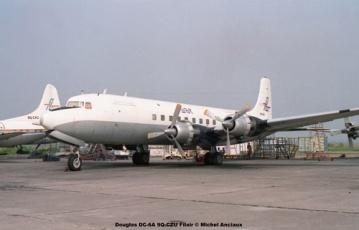 img321 Douglas DC-6A 9Q-CZU Filair © Michel Anciaux
