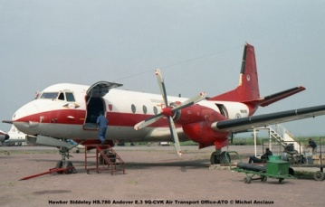 img327 Hawker Siddeley HS.780 Andover E.3 9Q-CVK Air Transport Office-ATO © Michel Anciaux