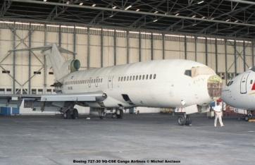 img332 Boeing 727-30 9Q-CSE Congo Airlines © Michel Anciaux