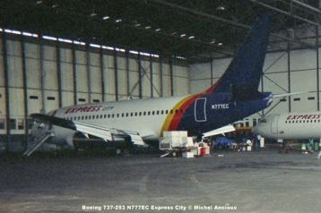img340 Boeing 737-293 N777EC Express City © Michel Anciaux