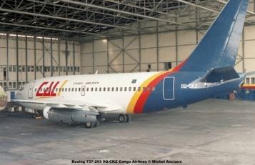 img341 Boeing 737-293 9Q-CKZ Congo Airlines © Michel Anciaux