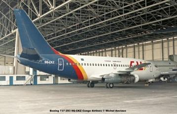 img343 Boeing 737-293 9Q-CKZ Congo Airlines © Michel Anciaux