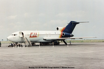 img361 Boeing 727-30 9Q-CRG Congo Airlines © Michel Anciaux