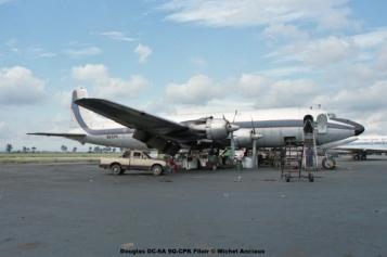 img37 Douglas DC-6A 9Q-CPK Filair © Michel Anciaux