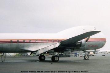 img428 Aviation Traders ATL-98 Carvair 9Q-CTI Transair Cargo © Michel Anciaux