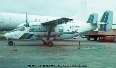 img448 PZL Mielec An-28 9Q-CPG Air Excellence © Michel Anciaux