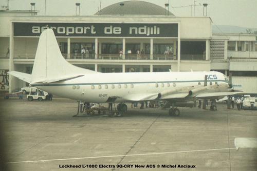 img47 Lockheed L-188C Electra 9Q-CRY New ACS © Michel Anciaux
