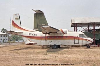 img59 Casa 212-200 9T-CBD Zaire Air Force © Michel Anciaux