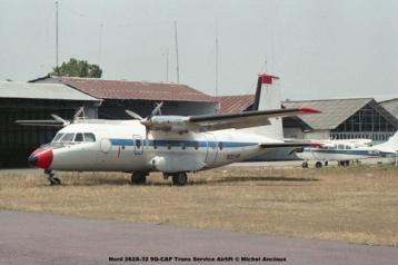 img63 Nord 262A-32 9Q-CAP Trans Service Airlift © Michel Anciaux