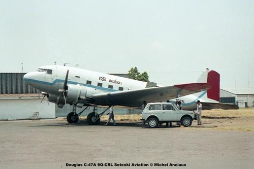 img68 Douglas C-47A 9Q-CRL Sotexki Aviation © Michel Anciaux