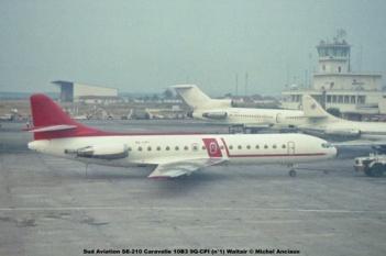 img71 Sud Aviation SE-210 Caravelle 10B3 9Q-CPI (n°1) Waltair © Michel Anciaux