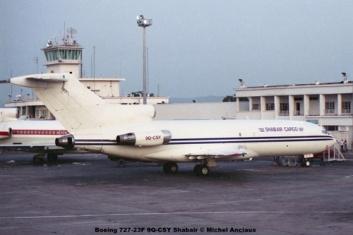 img78 Boeing 727-23F 9Q-CSY Shabair © Michel Anciaux